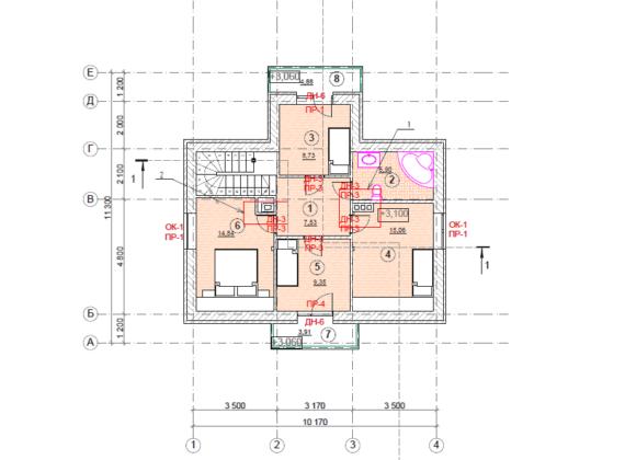 План вторго этажа